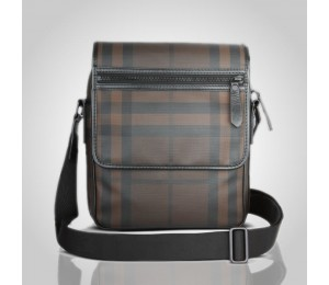 Burberry Smoked Check Crossbody Bag