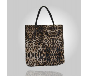 Dina Cheetah Print Tote Bag