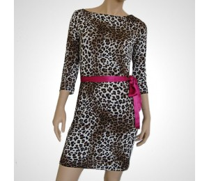 Guess Leopard Design Dress