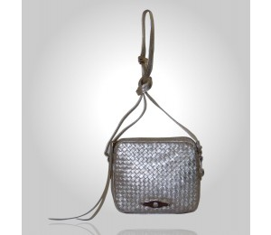 Elliott Lucca Woven Metallic Camera Bag