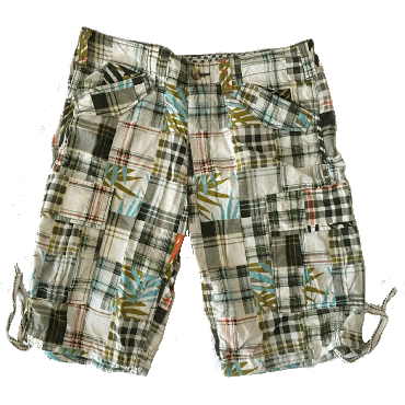 Sonny Bono Short For Men Multi Color- Bermuda