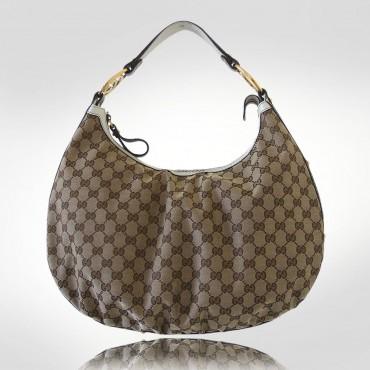 Gucci Beige Interlocking Medium Hobo Bag