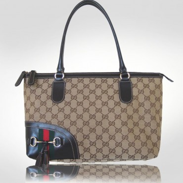 Gucci Beige Rectangular Tote Bag