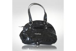 Mario Valentino Brown Dome Handbag