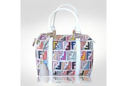 Fendi Multi-colored Baulotto Forever Zucca Handbag