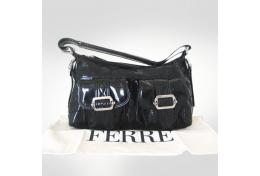 Ferre Black Medium Shoulder Bag